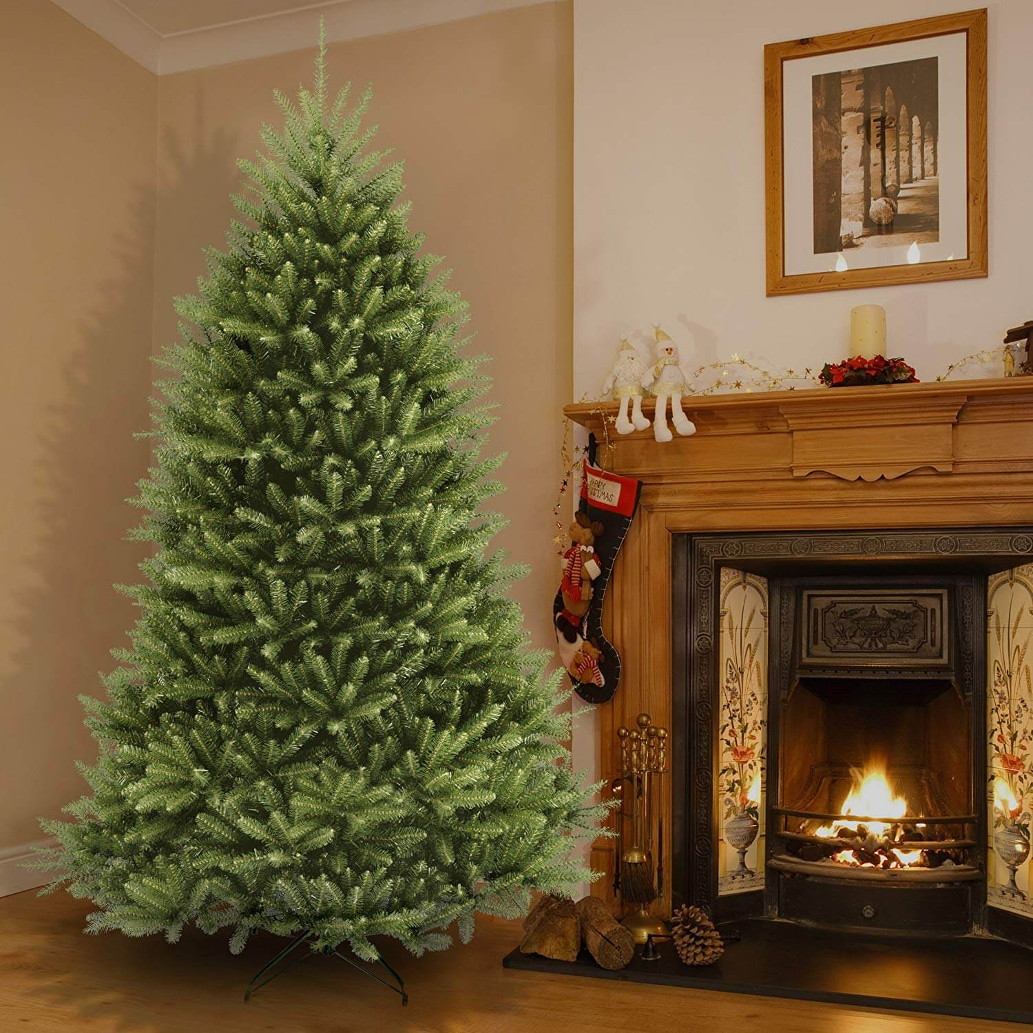 7.5 Foot Dunhill Fir Christmas Tree - From National Tree ...